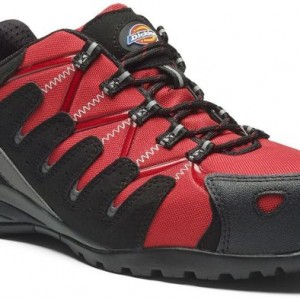 Dickies+Tiber+Safety+Trainer+-+Red
